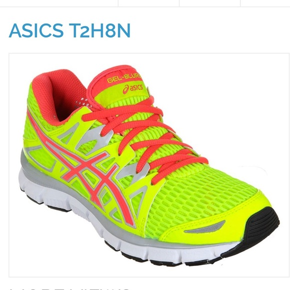ASICS Jell Blur Neon Yellow running shoes sneakers